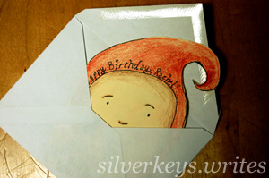 Forest Child Card 3