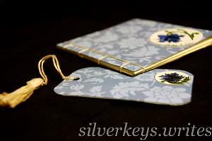 Blue Flower Notebook Set 3
