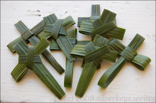 Palm Crosses 1