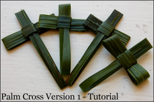 Palm Crosses Tutorial - Version 1